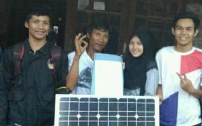 Diponegoro University Students Invented a Fish Collecting Equipment with Automatic Lights